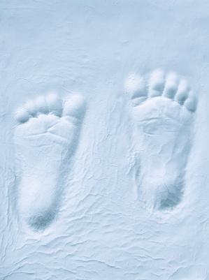 sandfootprint